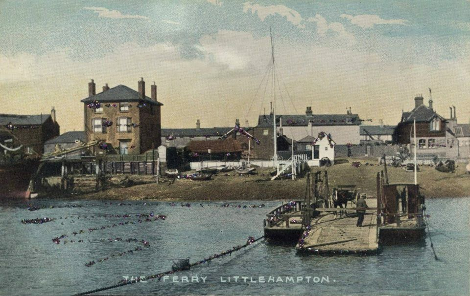 The Ferry at Littlehampton West Sussex England