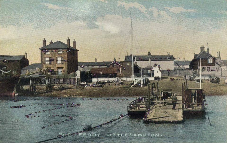 The Ferry at Littlehampton West Sussex England