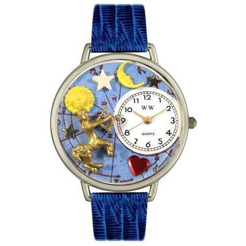 Sagittarius Watch in Silver (Large)