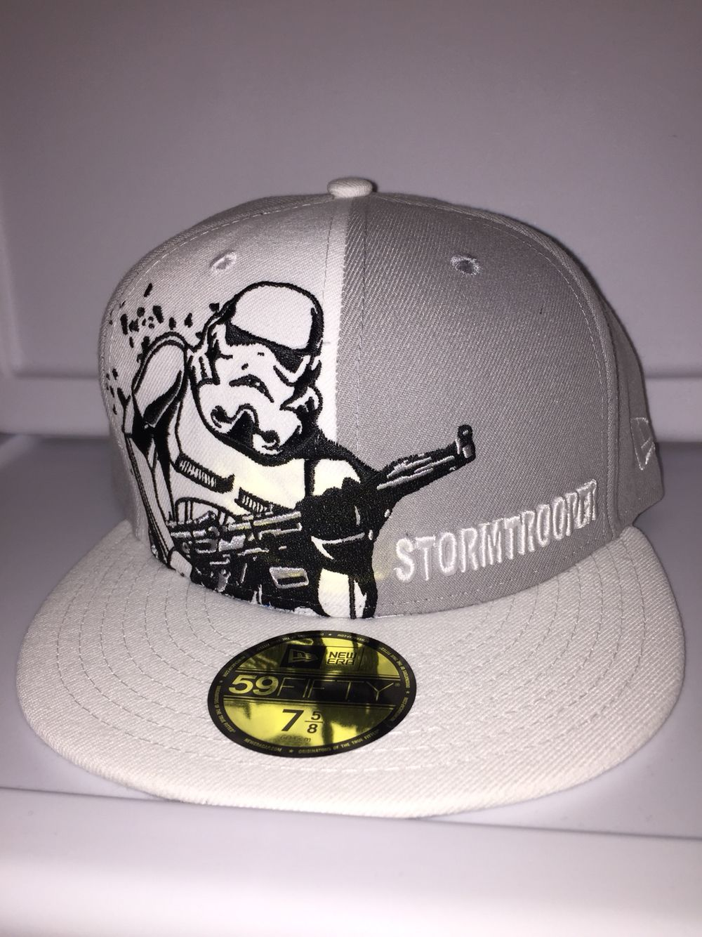 b701393ac New era Star Wars stormtrooper panel pop fitted with Star Wars title ...