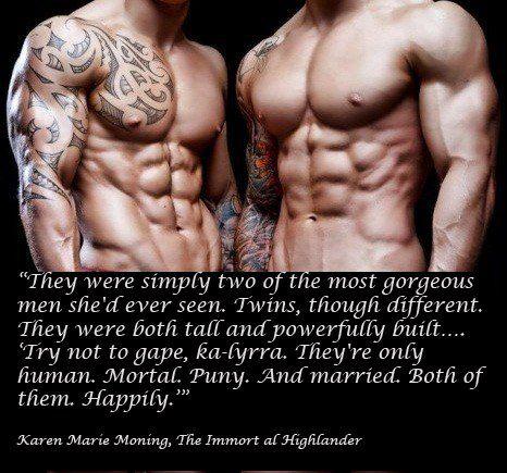 Highlander Quotes The Immortal Highlanderkaren Marie Moning Highlander Series