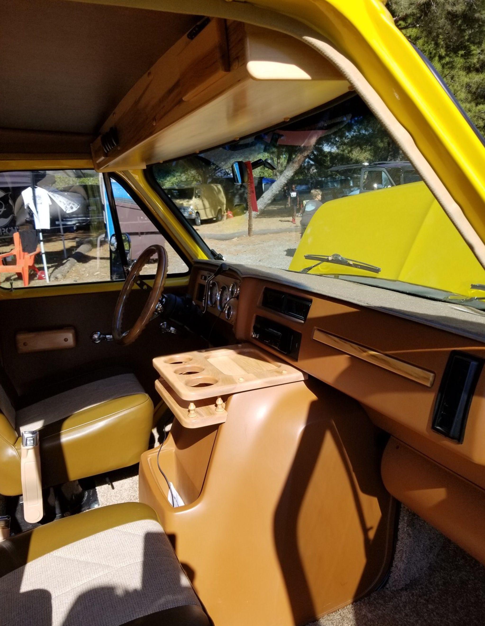 Nice Mid 70s Chevy Van Interior Van Interior Chevy Van Gmc Vans