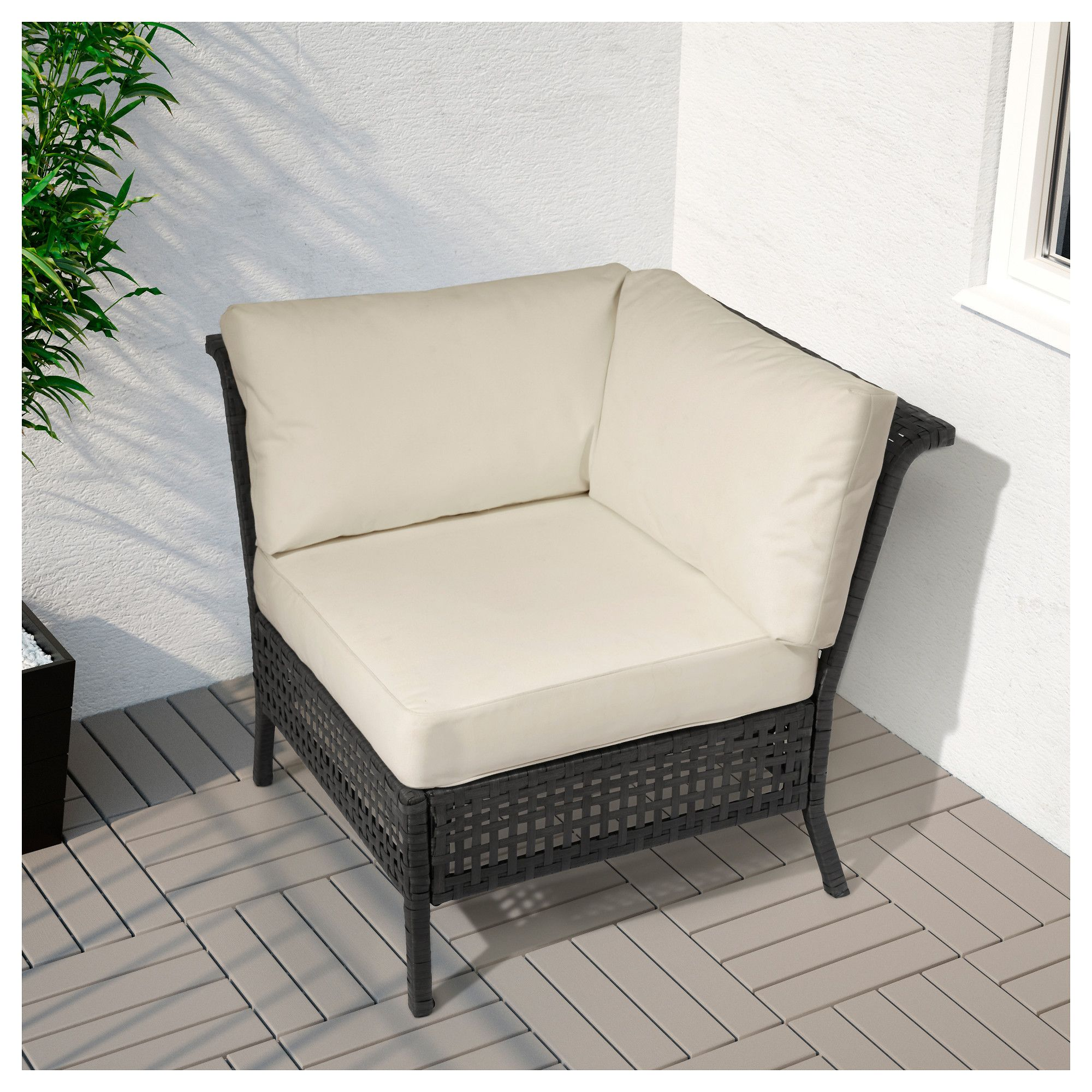Corner Black Ikea Kungsholmen SectionOutdoor BrownProyecto 29IHDE