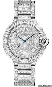 Cartier Ballon Bleu White Gold With Diamonds 492 025 Cartier
