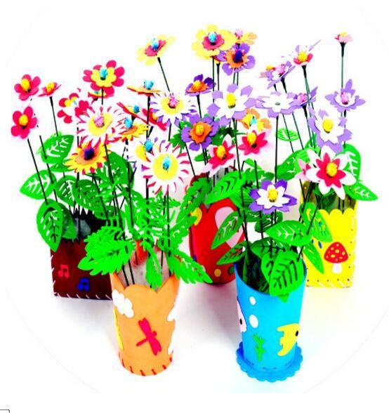 5pcs DIY Campanula Wind Chime Children Kindergarten Arts and Crafts Animal Toys