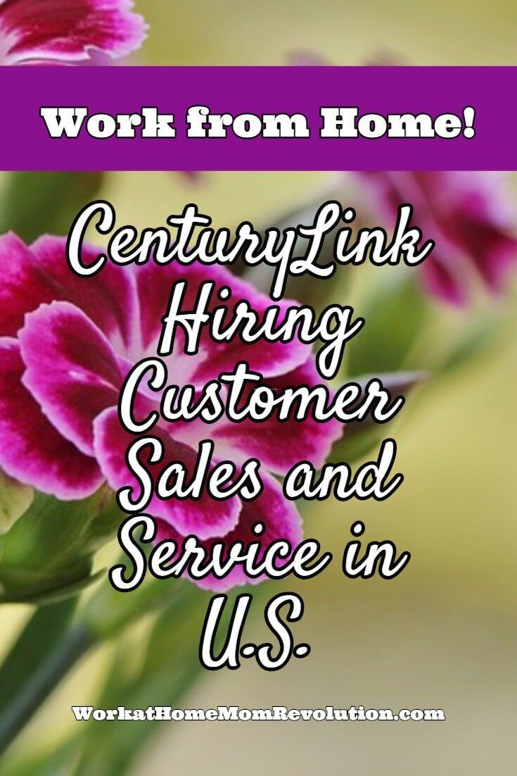 Work At Home Centurylink Hiring Sales And Service Agents In U S
