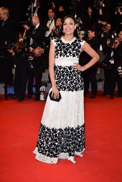 Rosario Dawson attends 'Captives' Premiere at the 67th Annual Cannes Film Festival on May 16, 2014 in Cannes, France.