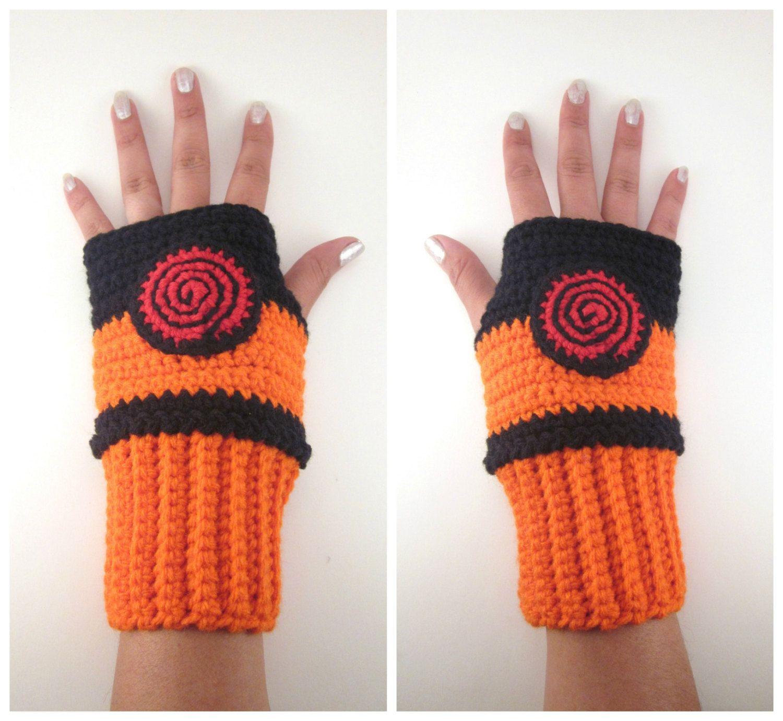 Original Naruto Inspired Shippuden Geeky Gauntlets. Wrist warmers ...