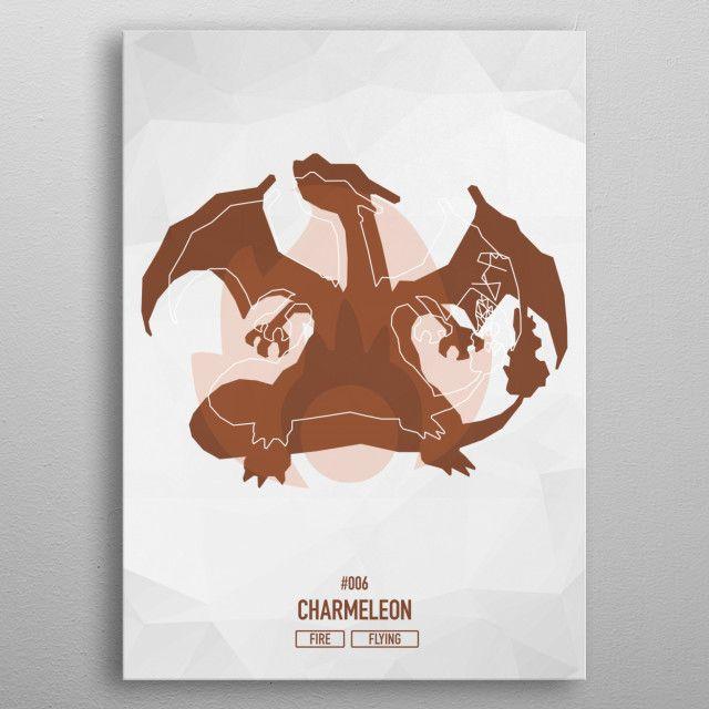 "Charmelon #006 explore Pinterest""> #006 Pokemon Low Poly Art Displate #Poster explore Pinterest""> #Poster | Displate thumbnail"