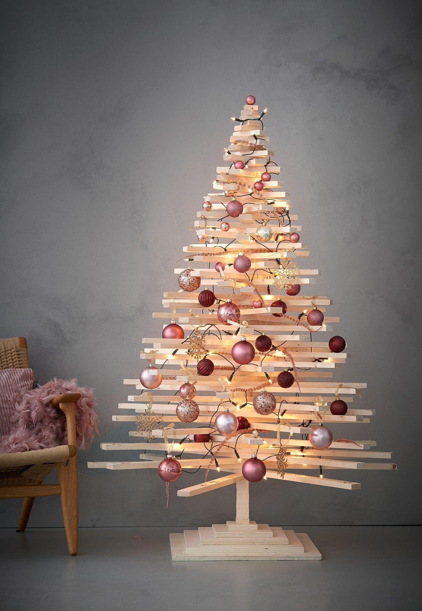 Maak je eigen 3D kerstboom 170cm christmas Pinterest