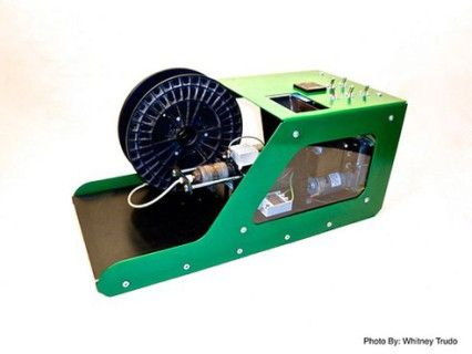 3Dprinten met je plastic afval Prints, Plastic, Printer