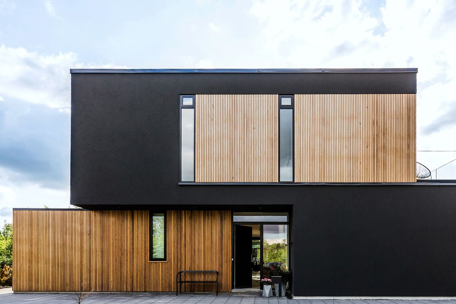 Gallery of Villa S / N+P ARCHITECTS - 1 | Fassaden, Flachdach und ...