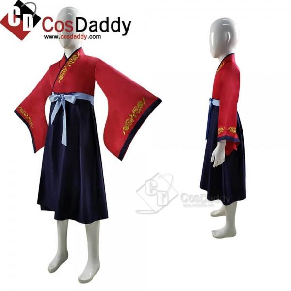 2020 Kids Hua Mulan Costume Disney Princess Girls Dress Cosplay In 2020 Mulan Costume Cosplay Costumes Girls Dresses