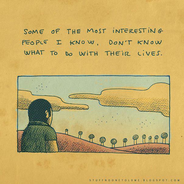 Ilustrações Revelam Ensinamentos De Vida Que Ninguém Vai Te Ensinar