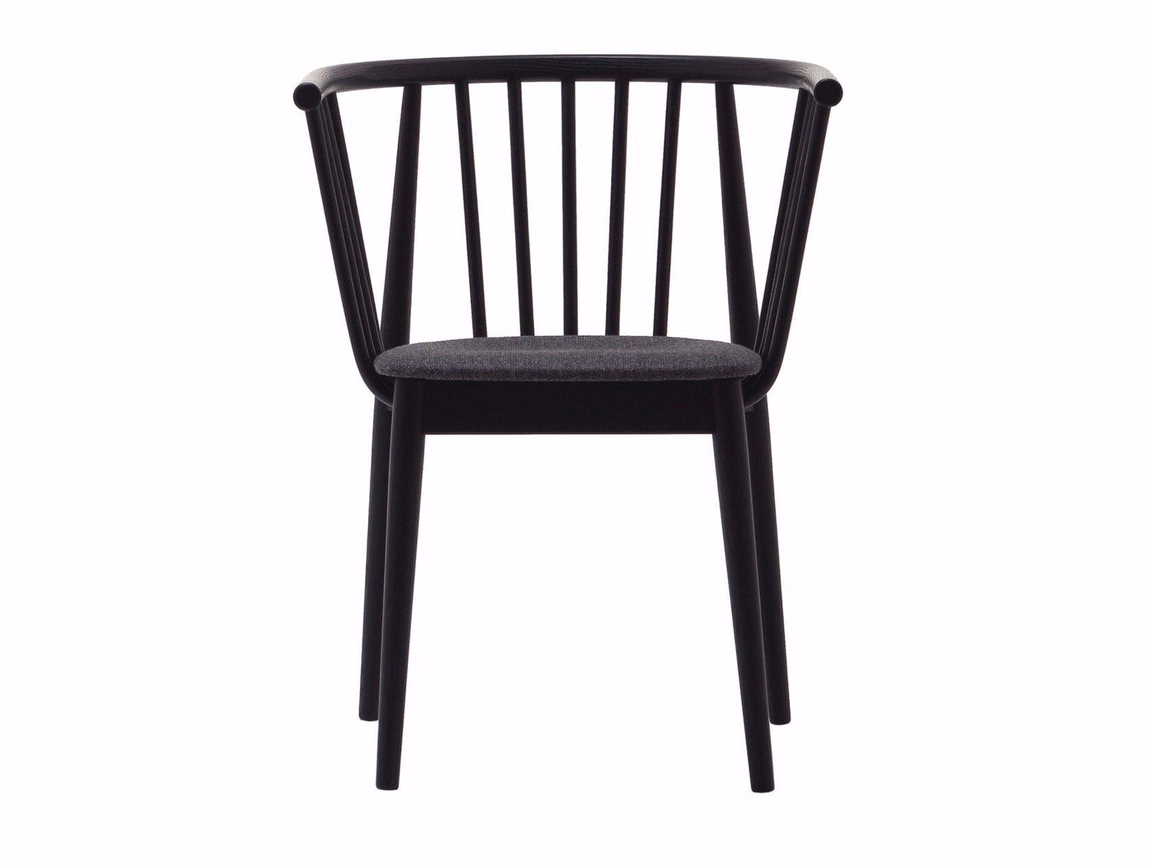 Cizeta Sedie ~ Sedia in frassino con braccioli con cuscino integrato tivoli sedia