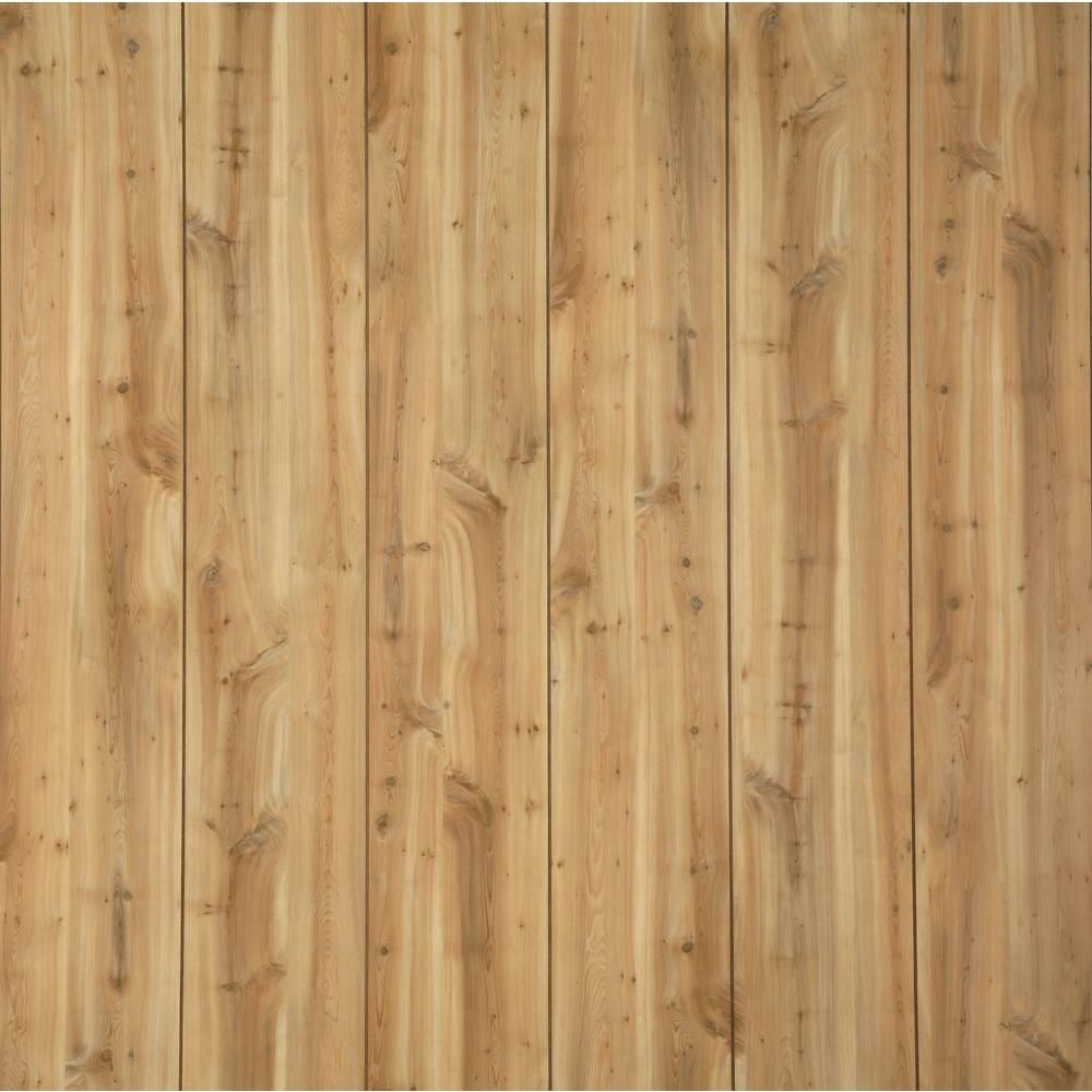 Gp Canyon Yew 32 Sq Ft Mdf Wall Panel 739525 At The Home