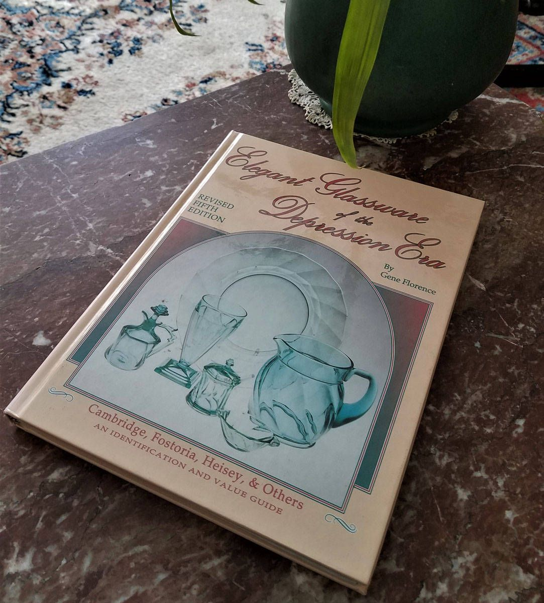 Book Elegant Glassware of Depression Era, Gene Florence 5th Edition ...