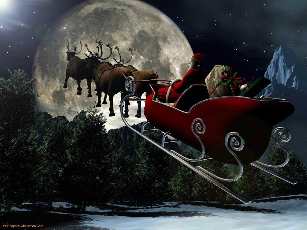 Christmas Eve Santa | Download Santa Claus wallpaper, 'Santa Claus Christmas Eve'.