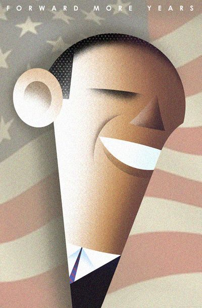 Forward More Years    by Bob Staake.     © 2012