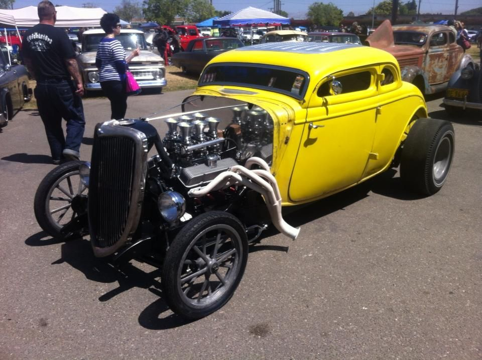 Old 60's Drag racing '34 Ford 5W Coupe | Built for speed ...