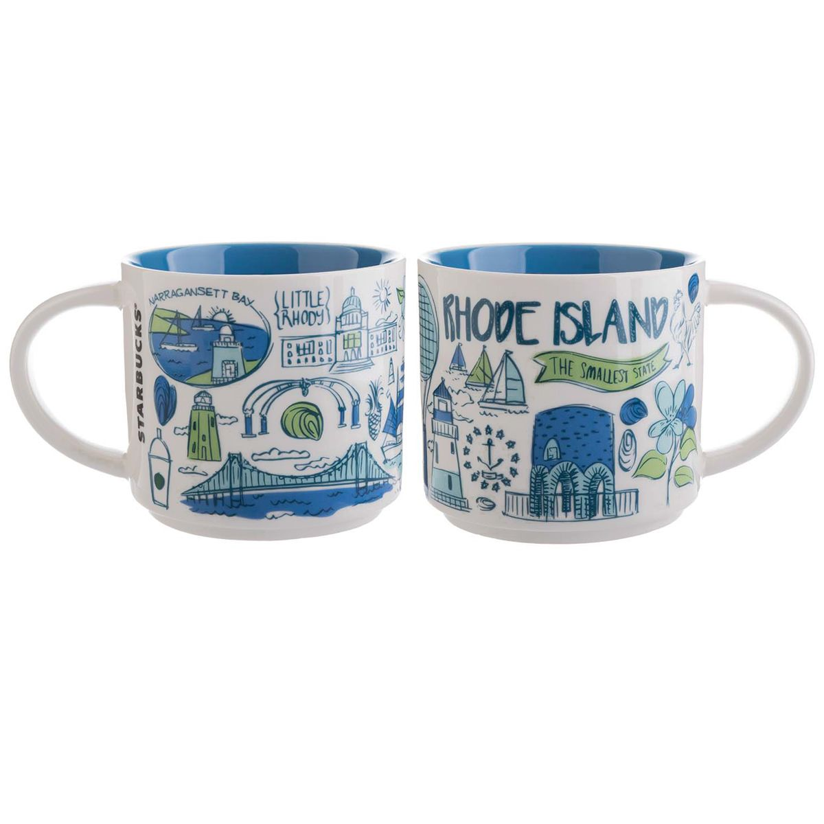 Rhode Island A Collectible Mug From The Starbucks Been There Collection Starbucks Mugs Starbucks Lovers Best Starbucks Coffee