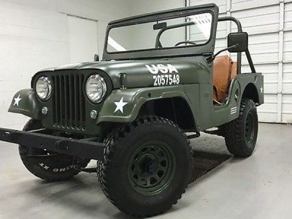 Willys Cj5 Willys Jeep Cj5 1963 Green Cj New Paint New Interior