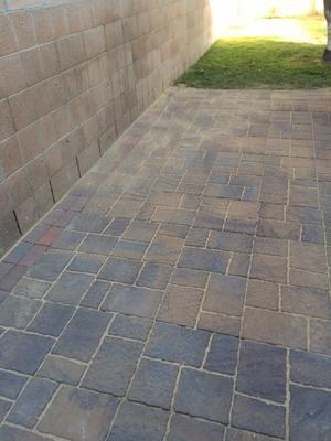 concrete patio stone
