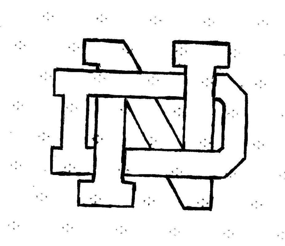 notre dame logo - Google Search | Pumpkins | Pinterest | Logo ...