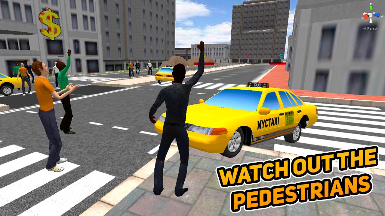 لعبة سيارة الأجرة في المدينة العاب عربيات Taxi Driver Taxi
