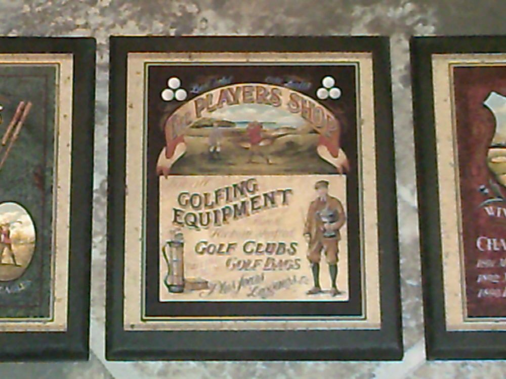 Golf Men S Wall Decor Plaques Man Sports Theme Signs 3 Vintage Style Pictures Customcraftedbyozarkmountainhomestead