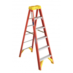 Werner 10x300f Fiberglass Step Ladders Diamond Tool Step Ladders Ladder Wood Step Stool