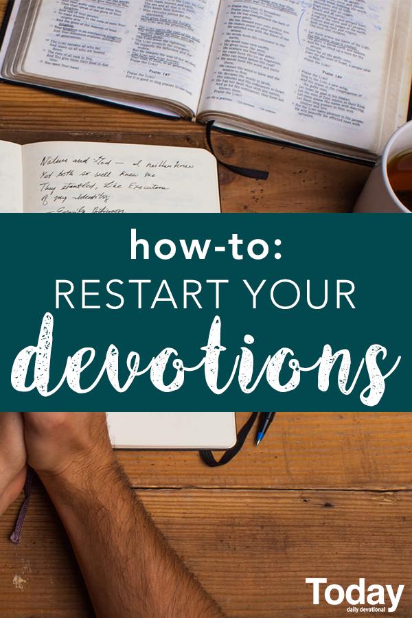 This New Year, reboot your devotional habit. #devotions #devotional ...