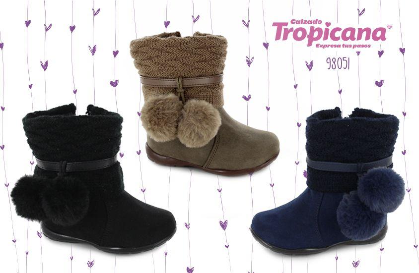 #botas #Tropicana, #mami, encuentra mucha moda para los #pies de tu #hija en #CalzadoTropicana, nuestros #modelos de #otoño te van a encantar