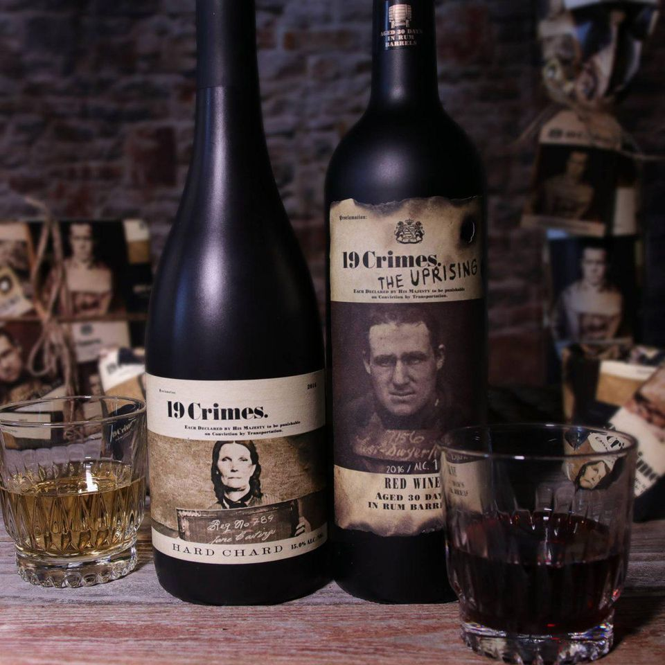 Celebrate Halloween with criminally inspired wines from 19