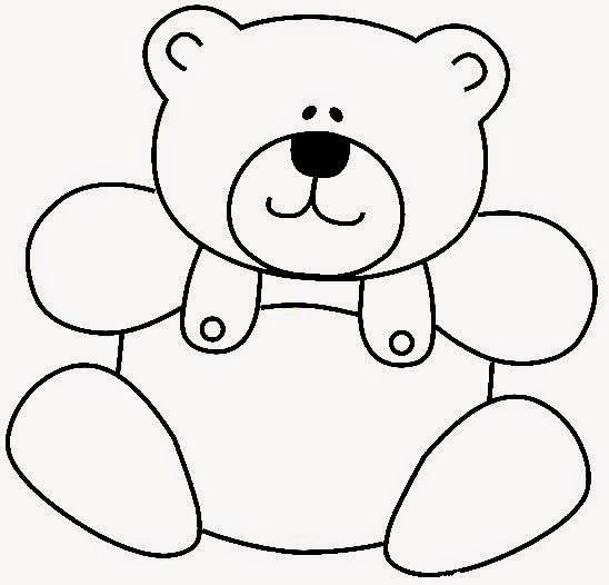 Desenhos De Ursinhos Fofos E Cutes Para Colorir Pintar E