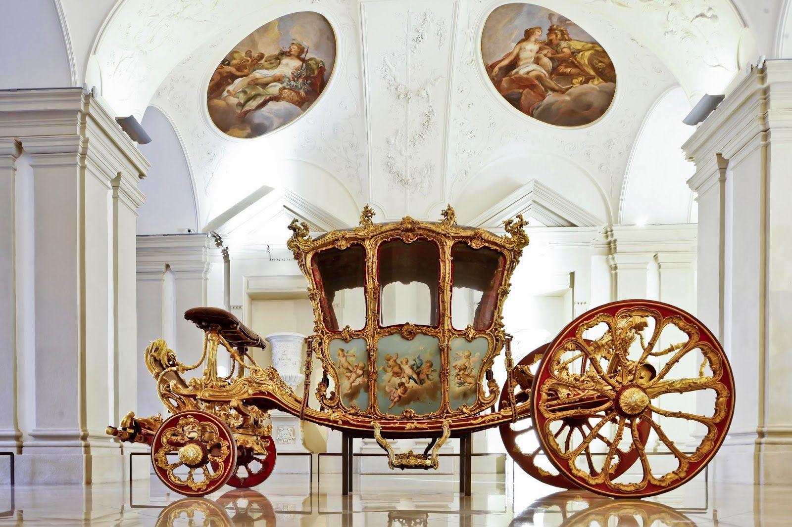 Luxarazzi Luxarazzi 101 Golden Carriage Of Prince Joseph Wenzel