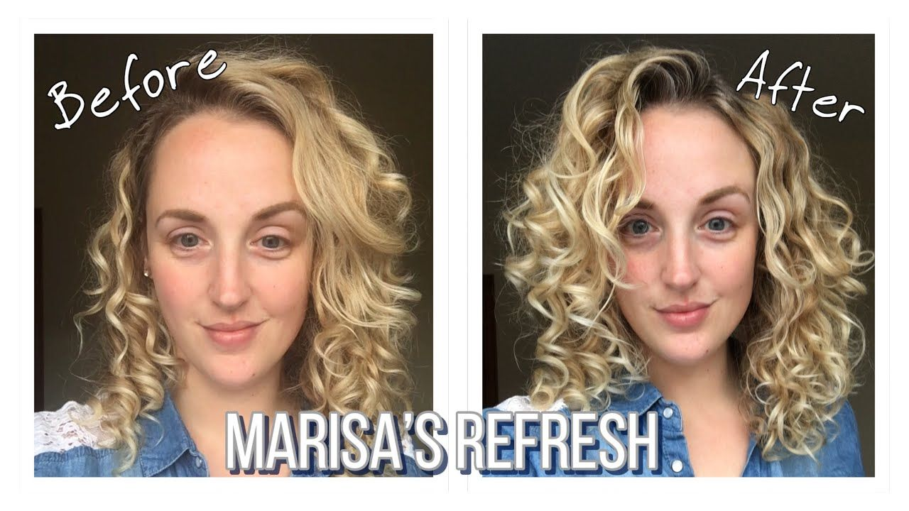 How To Refresh Curly Hair Between Washes Marisas Refresh