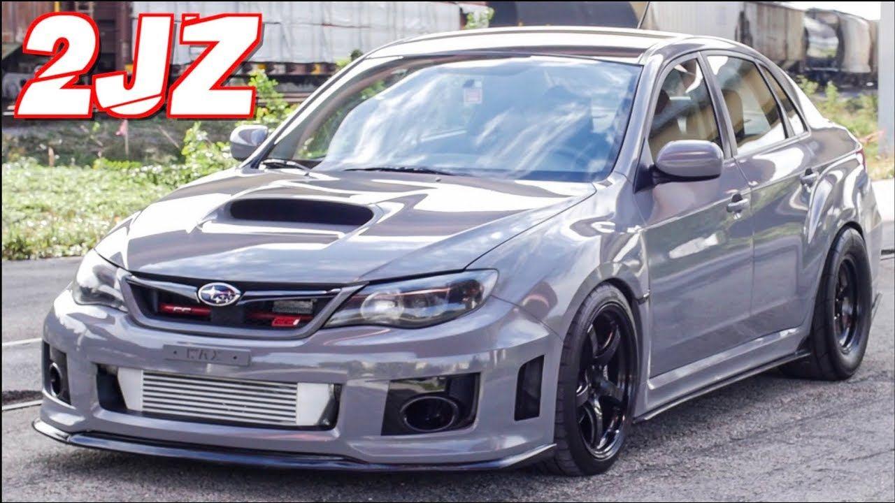 "2JZ Subaru WRX ""SupraRu"" 900HP Street Pulls Better Than"