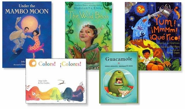 5 Bilingual Children's Books For National Poetry Month