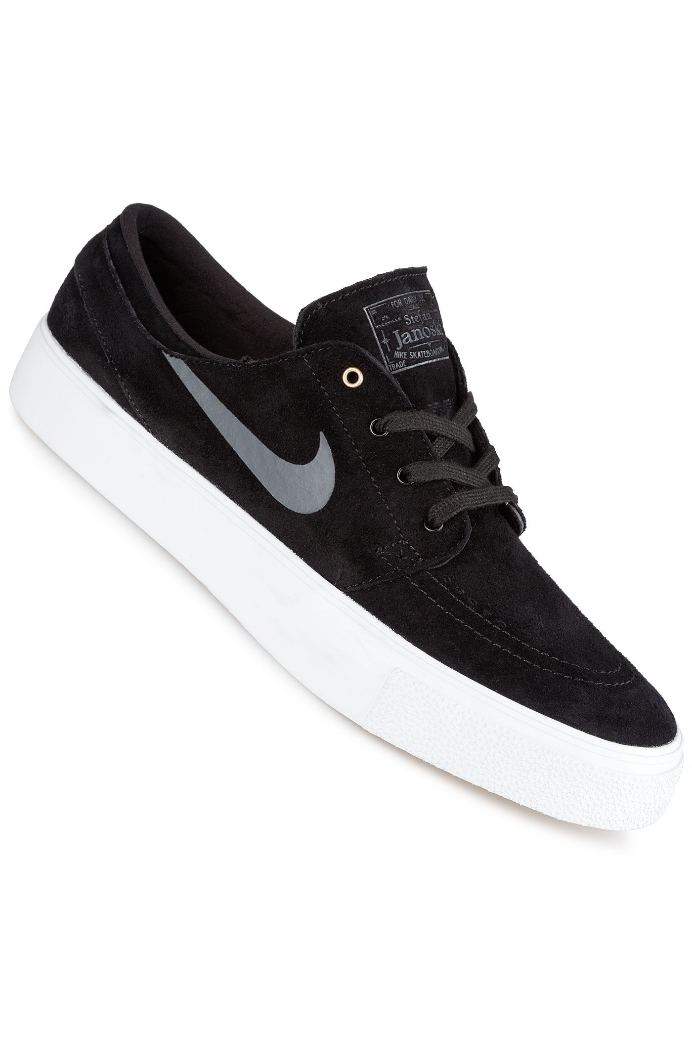 Nike SB Zoom Stefan Janoski Premium HT Schuh (black dark grey)