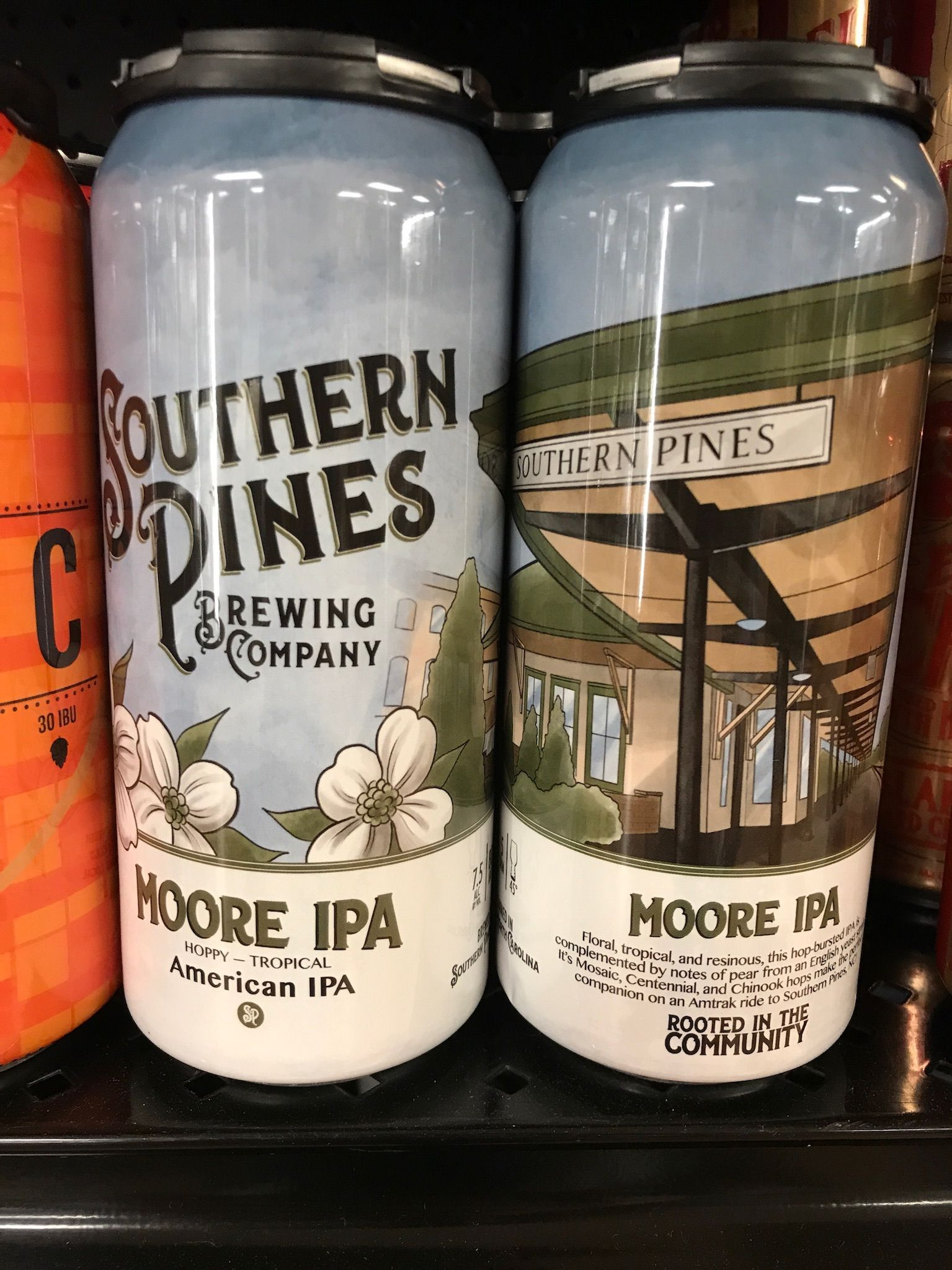 Moore Ipa From Southern Pines Brewing Co Just Arrived Southern