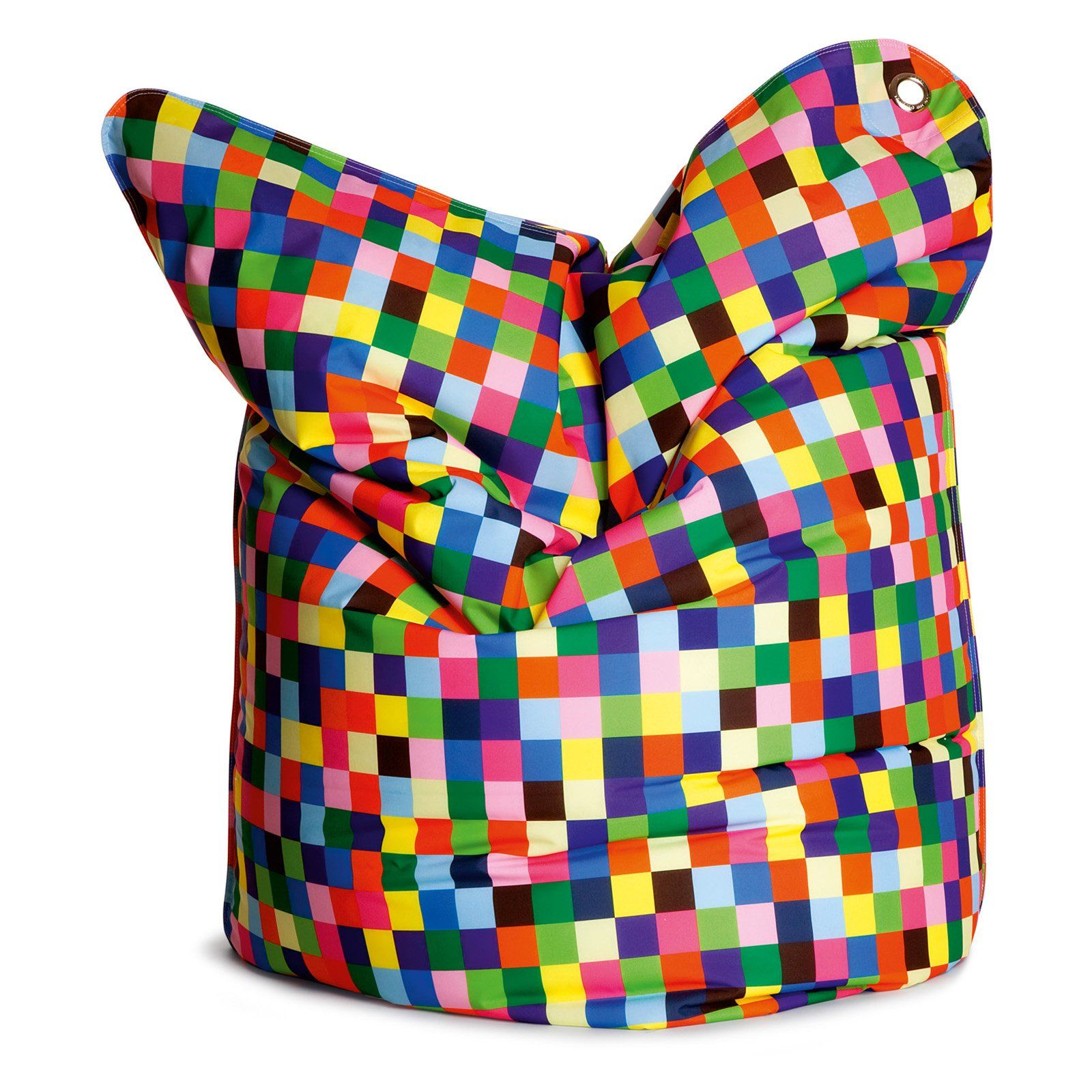 Have to have it. THE BULL Large Fashion Bean Bag Chair - Happy Pixels $313.98