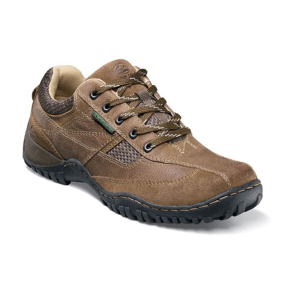 Nunn Bush Mens Parkside Oxford,Prairie Brown/Beige,13 M US 84225 ALL  TERRAIN GEL