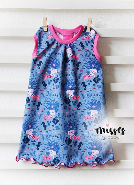 Misses Cherry: Die kleine Meerjungfrau | Nähen | Pinterest | Die ...
