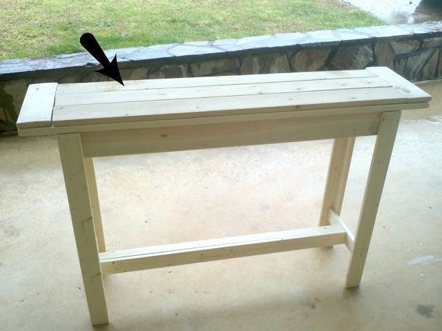 Bourne Southern Diy Entry Table Under 30 In 2019 Diy