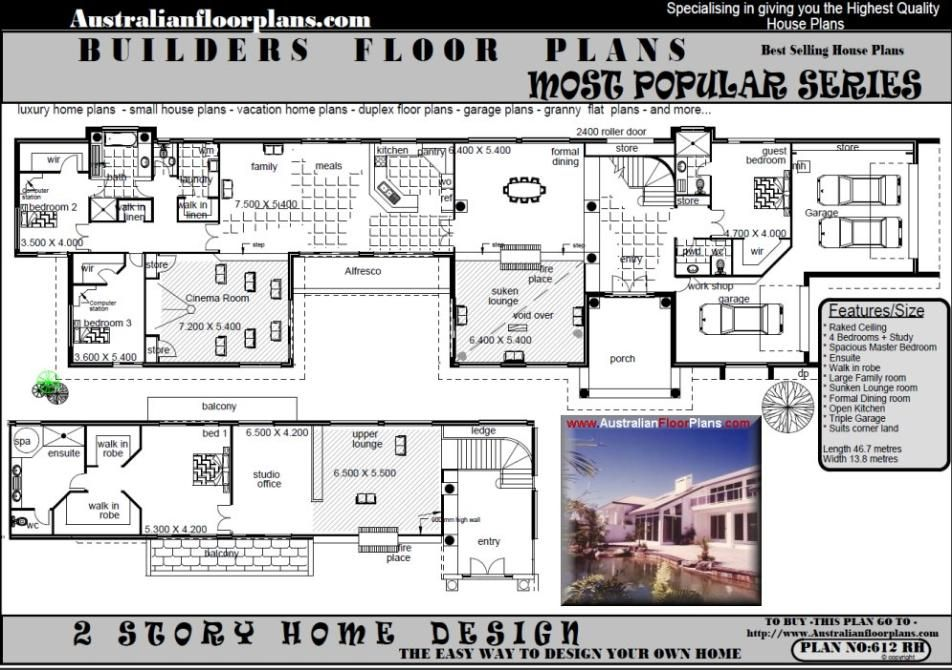 Australian Country House Plans Free Basement House Plans