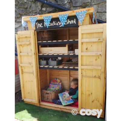 Amazing JENNYu0027S READING CUBBY   Sheds And Outdoor Storage   Early Years   Cosy  Direct