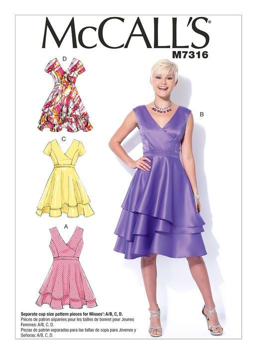 M7316 | McCall\'s Patterns | My Style | Pinterest | Aniversario bodas ...