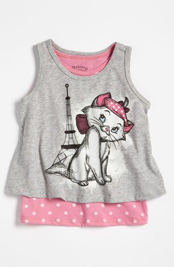 39e348848 Marie from The Aristocats tank top. So cute! I would so wear this, she's  one of my favorite Disney characters! <3