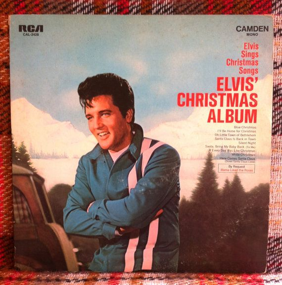 The Elvis Christmas Album LP Vinyl Record   Elvis presley christmas, Christmas albums, Elvis sings